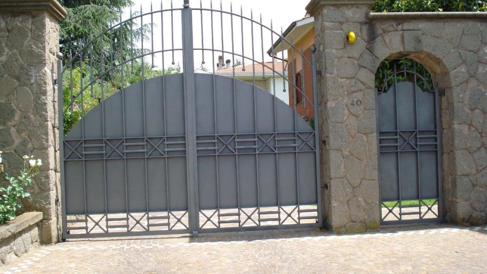 Preferenza Vendita cancelli di ferro - Roma - LA.FER.PI. PM45