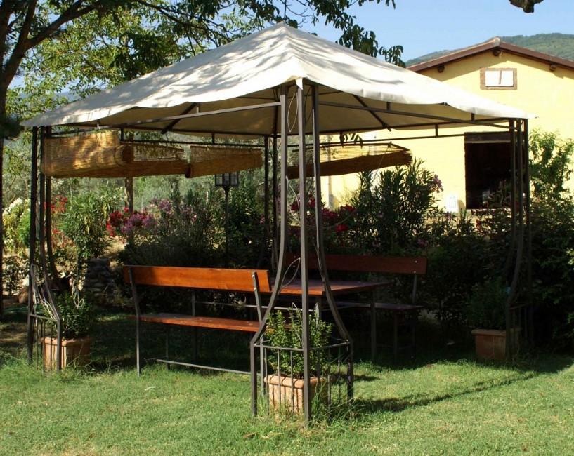 Realizzazione gazebo in ferro gazebo in ferro battuto - Gazebo da giardino in ferro ...