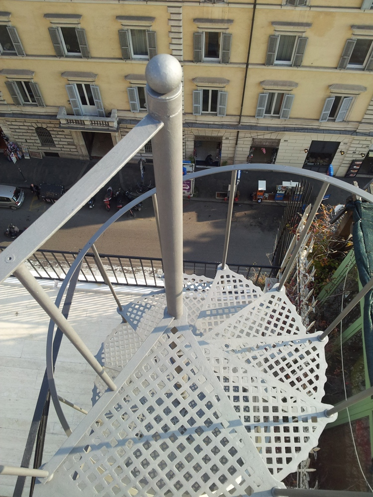 Scale esterne - Roma - LA.FER.PI