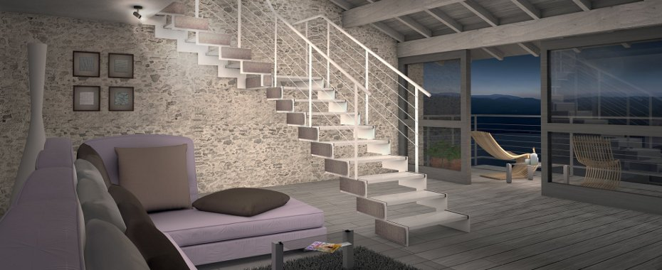 Scale da interni roma laferpi - Scale in muratura per interni ...