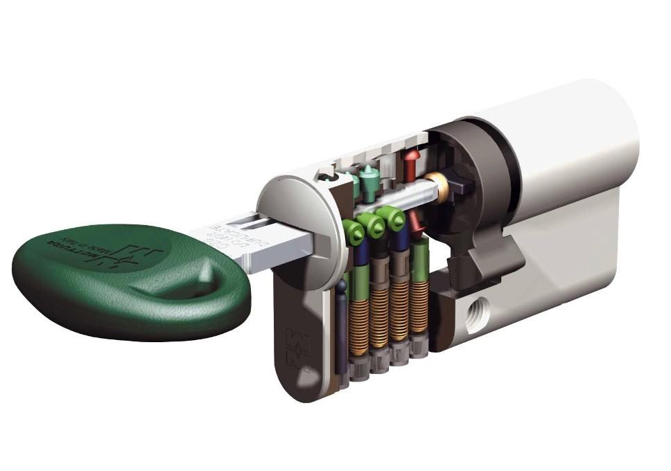 Serrature per porte blindate cilindro europeo doppia - Cilindro porta blindata ...